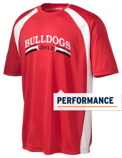 Gordon-Barbour Elementary School Bulldogs Men's Dry Zone Colorblock T-Shirt