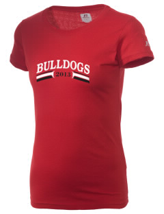 Gordon-Barbour Elementary School Bulldogs  Russell Women's Campus T-Shirt