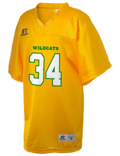 Whittier Elementary School Wildcats Russell Kid's Replica Football Jersey