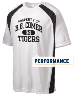 BB Comer Memorial High School Tigers Men's Dry Zone Colorblock T-Shirt