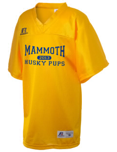 Mammoth Elementary School Husky Pups Russell Kid's Replica Football Jersey