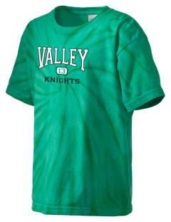 Valley Elementary School Knights Kid's Tie-Dye T-Shirt
