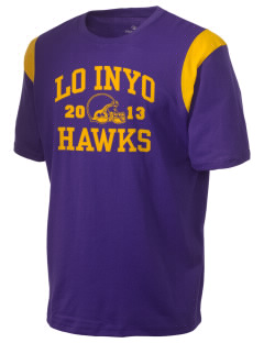 Lo Inyo Elementary School Hawks Holloway Men's Rush T-Shirt