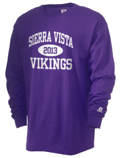 Sierra Vista Middle School Vikings  Russell Men's Long Sleeve T-Shirt