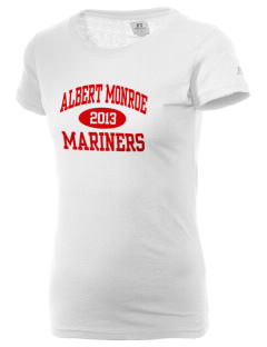 Albert Monroe Middle School Mariners  Russell Women's Campus T-Shirt