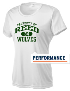 Reed Middle School Wolves Women's Competitor Performance T-Shirt