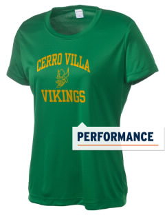 Cerro Villa Middle School Vikings Women's Competitor Performance T-Shirt