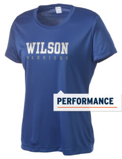 Wilson Junior High School Warriors Women's Competitor Performance T-Shirt
