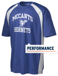 McCants Middle School Hornets Men's Dry Zone Colorblock T-Shirt