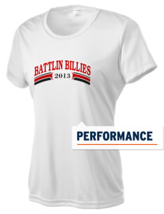 Fredericksburg Middle School Battlin Billies Women's Competitor Performance T-Shirt