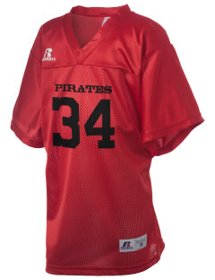 Hartman Middle School Pirates Russell Kid's Replica Football Jersey