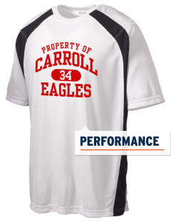 Carroll High School Eagles Men's Dry Zone Colorblock T-Shirt