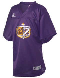 Washington High School Golden Eagles Russell Kid's Replica Football Jersey