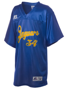 Johnson High School Jaguars Russell Kid's Replica Football Jersey