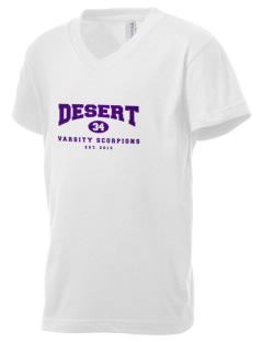 Desert High School Scorpions Kid's V-Neck Jersey T-Shirt
