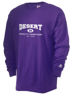 Desert High School Scorpions  Russell Men's Long Sleeve T-Shirt
