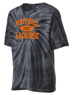 Foothill High School Mustangs Kid's Tie-Dye T-Shirt