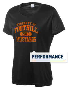 Foothill High School Mustangs Women's Competitor Performance T-Shirt