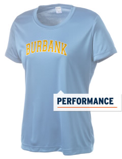 Luther Burbank High School Titans Women's Competitor Performance T-Shirt