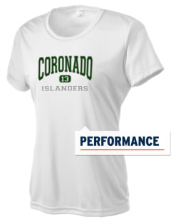 Coronado High School Islanders Women's Competitor Performance T-Shirt