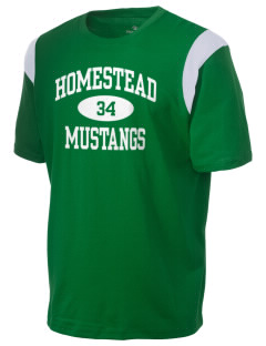 Homestead High School Mustangs Holloway Men's Rush T-Shirt