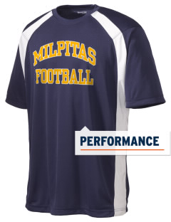 Milpitas High School Trojans Men's Dry Zone Colorblock T-Shirt