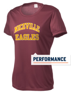 Niceville High School Eagles Women's Competitor Performance T-Shirt