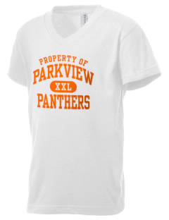 Parkview High School Panthers Kid's V-Neck Jersey T-Shirt