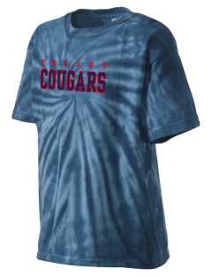 J B Conant High School Cougars Kid's Tie-Dye T-Shirt