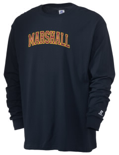 Marshall High School Commandos  Russell Men's Long Sleeve T-Shirt