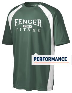 Fenger High School Titans Men's Dry Zone Colorblock T-Shirt