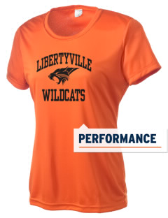 Libertyville High School Wildcats Women's Competitor Performance T-Shirt