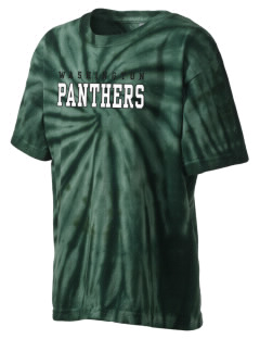 Washington High School Panthers Kid's Tie-Dye T-Shirt