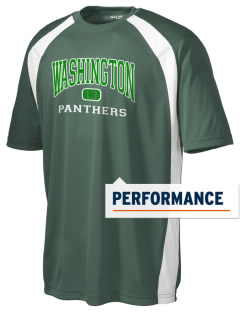 Washington High School Panthers Men's Dry Zone Colorblock T-Shirt