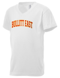 Bullitt East High School Chargers Kid's V-Neck Jersey T-Shirt