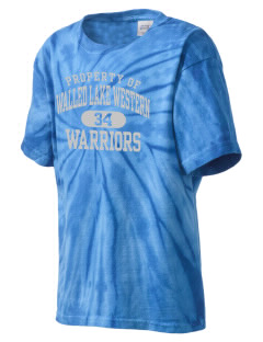 Walled Lake Western High School Warriors Kid's Tie-Dye T-Shirt