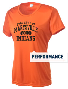 Marysville High School Indians Women's Competitor Performance T-Shirt