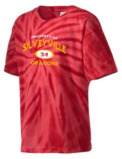 Silveyville Primary School Dragons Kid's Tie-Dye T-Shirt
