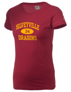 Silveyville Primary School Dragons  Russell Women's Campus T-Shirt