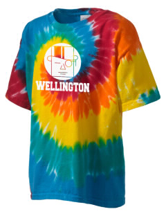 Wellington High School Dukes Kid's Tie-Dye T-Shirt