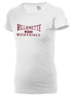 Willamette High School Wolverines  Russell Women's Campus T-Shirt