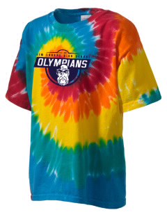 Jim Thorpe High School Olympians Kid's Tie-Dye T-Shirt