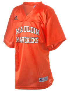 Mauldin High School Mavericks Russell Kid's Replica Football Jersey
