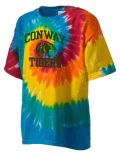 Conway High School Tigers Kid's Tie-Dye T-Shirt