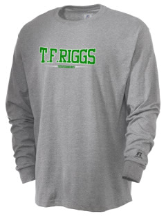 T.F. Riggs High School Governors  Russell Men's Long Sleeve T-Shirt