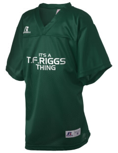 T.F. Riggs High School Governors Russell Kid's Replica Football Jersey