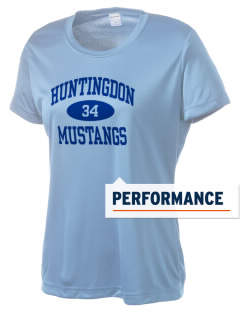 Huntingdon High School Mustangs Women's Competitor Performance T-Shirt