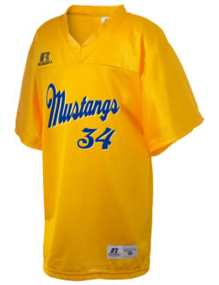 Huntingdon High School Mustangs Russell Kid's Replica Football Jersey