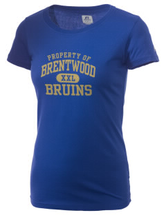 Brentwood High School Bruins  Russell Women's Campus T-Shirt