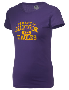 Brackenridge High School Eagles  Russell Women's Campus T-Shirt